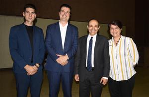 02032020 Rubén Martín, Carlos Bejos, Vidal Shmill y Elva González.
