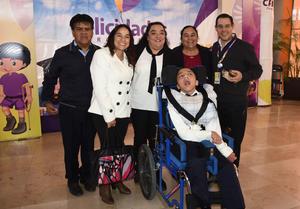 02032020 Humberto Galindo, Norma Lorena Aguilar, Ana Mariela Galindo, Azucena Aguilar Martínez, Francisco Gallegos Blanco y Axel Humberto Galindo Aguilar.
