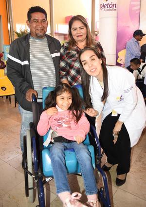 02032020 Francisco Hernández, Dayan Lorelí Hernández Gutiérrez, Guadalupe González Hernández y Aymé Berumen.