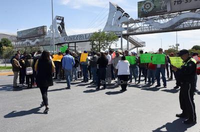 Los inconformes solicitan la intervención del Gobierno de Durango para que destrabe esta situación.