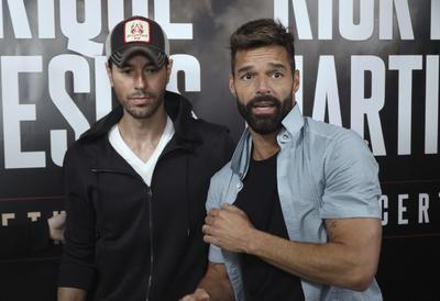 Ricky Martin y Enrique Iglesias anuncian nueva gira juntos