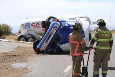 Este incidente provocó el cierre de la carretera.