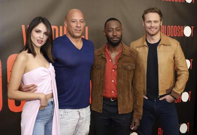 El elenco de 'Bloodshot' se reunió para el llamado de prensa