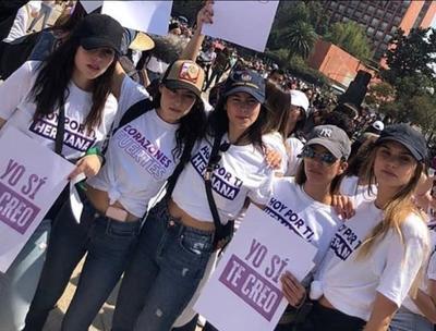 Artistas se unen en el marco del Día Internacional de la Mujer para marchar