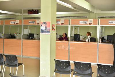 En Recaudación de Rentas de Torreón algunas mujeres trabajaron.