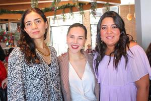 06032020 Ana Cecy Zugasti, Daniela Soto y Cristina Fematt.