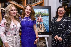07032020 Larisa Navarro, Sandra López y Susana Cisneros.
