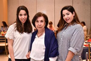 07032020 Silvia González, Alma Castro y Elisa Parga.