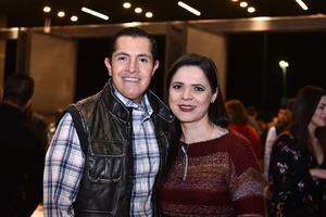 05032020 Víctor Barahona y Ana Isabel López.
