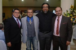 08032020 Diego Román, Noé Alvárado, Edi Manqueros y Hesner Coto.