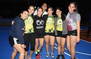 06032020 Ximena Valverde, Evelyn Fierro, Andrea de la Rosa y Sofía López.