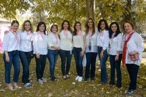 08032020 CLUB DE JARDINERíA.  Algunas de las asistentes a reciente evento en el Bosque Venustiano Carranza.