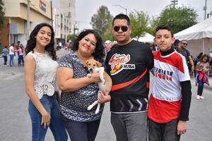 10032020  Gabriela, Héctor, Ximena , Héctor y Canelo.