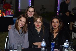 06032020 Cristina, Flor, Claudia y Claudia.