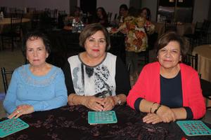 13032020 DISFRUTAN DE SORTEOS.  Blanca, Irene y Marcela.