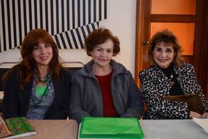 16032020 TARDE CULTURAL.  Maribel, Toñita y Rosa.