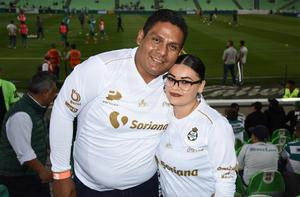 13032020 GOZAN DEL FUTBOL.  Rafael Vázquez y Alicia Hernández.