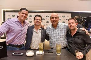 14032020 Norberto Valdez, Arturo Rivera, Bruno Solís y Faruk Fernández.