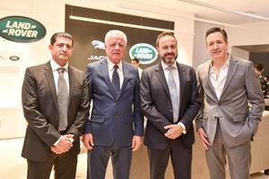 14032020 Yussef Mansur, Jorge Zermeño, Raúl Peñafiel y Alberto Marcos.