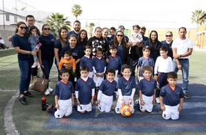16032020 EVENTO DEPORTIVO.  Niños de reconocida institución educativa fueron anfitriones en la Copa Castores 2020.
