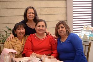 15032020 ASISTEN A DESPEDIDA DE SOLTERA.  Margarita, Margarita, Norma y Yolanda.