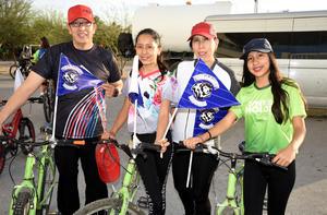 16032020 Miguel Ángel, Ana Luisa, Melanie, Majo y Chantal.
