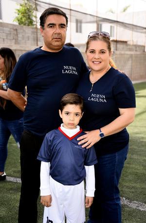 12032020 Patricia Álvarez, Luis Raigoza y Patricia Raigoza.