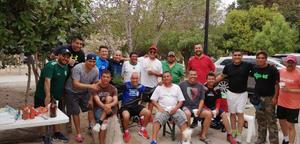 19032020 Algunos integrantes del grupo de adultos mayores Amantes de la Vida en reciente reunión, invitados por Ing. Juan Manuel González.