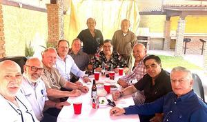 22032020 Egresados de la VII Generación de Abogados 1973-1978 de la Universidad Autónoma de Coahuila en reciente festejo.