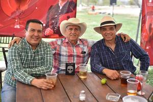 24032020 Juan José Bernal, Ángel Cepeda y Manuel Tolentino.