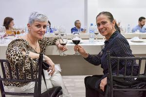 26032020 Adriana Montes de Izaguirre y Maye Villarreal.