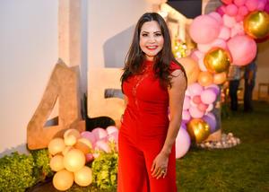 25032020 Adriana Chávez recibió múltiples felicitaciones y regalos por su reciente cumpleaños.