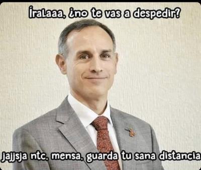 'Quédate en casa'; Hugo López-Gatell desata memes en redes sociales