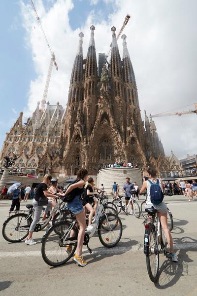 Así lucían las ciudades de Europa antes y después del COVID-19