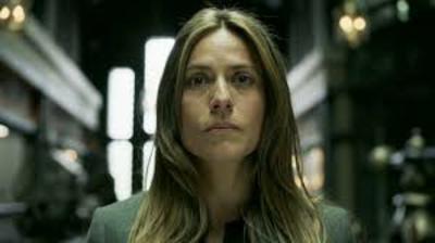 Raquel, la inspectora Murillo.