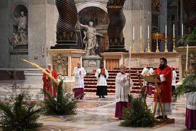 En tiempos de pandemia, aprovechó para recordar a los fieles de la religión católica que no los dejará solos.