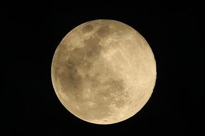 'Luna rosa de abril' coincide con superluna