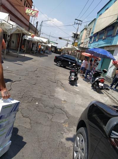 Así luce el mercado de Tepito durante la cuarentena
