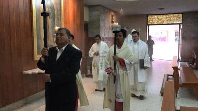 Misa de Jueves Santo a puerta cerrada
