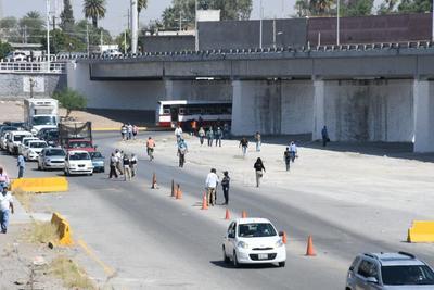 Se ordenó que camiones de la ruta Torreón-Gómez Palacio-Lerdo regresaran a Durango si sus unidades no se encontraban sanitizadas, sus choferes no contaban con las medidas de precaución básica, o bien se evitaba tomar las rutas previamente establecidas entre Coahuila y Durango.