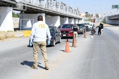 Restringen acceso por Puente Plateado entre Torreón y Gómez Palacio por coronavirus