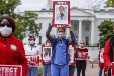 La Casa Blanca presenció una histórica y emotiva protesta.