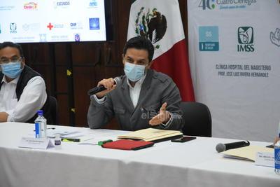 Un mes después de que la tragedia tocara las puertas de la capital del acero, el director general del Instituto Mexicano del Seguro Social, Zoé Robledo Aburto, visitó la región y reconoció que el instituto que encabeza cometió fallas y omisiones al inicio de la pandemia.