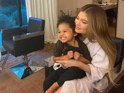 Stormi, hija de Kylie Jenner y Travis Scott.