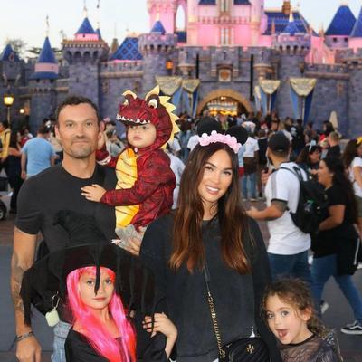 Bodhi Ransom Green, Noah Shannon Green, Journey River Green, hijos de Megan Fox y Brian Austin Green.
