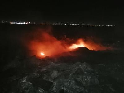 Intensas ráfagas de viento impactan a La Laguna