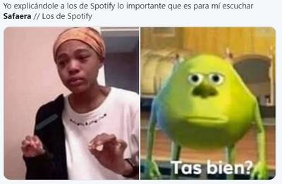 Los mejores memes de la 'desaparición' de Safaera en Spotify