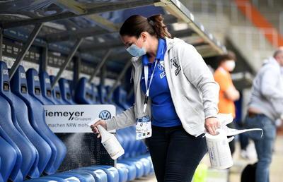 Bundesliga, el primer torneo de futbol en volver tras COVID-19