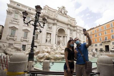Así luce la reapertura casi total de actividades en Italia tras confinamiento