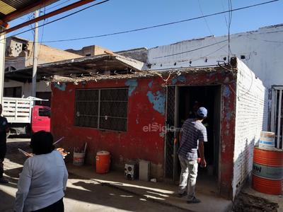 Caseta. Una antigua caseta de seguridad abandonada se está rehabilitando para que entre en funciones lo antes posible.